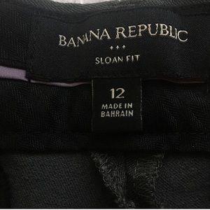 Banana Republic Pants - Like New Gray Banana Republic Sloan Fit Pants